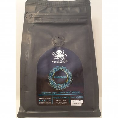 AŠTUONKOJIS malta kava NICARAGUA, 250 g