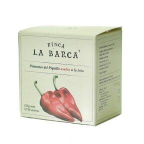 Ąžuolo dūmuose skrudinta paprika FINCA LA BARCA, 255 g