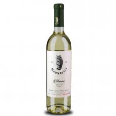 Baltasis sausas vynas Manavi Marnaveli, 750 ml