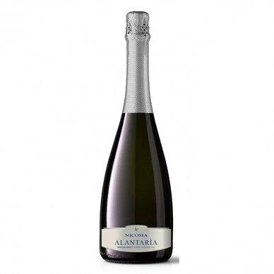 Baltasis putojantis vynas Nicosia Alantaria Brut Spumante  Terre Siciliane IGT, 750 ml