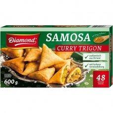 """Daržovių trikampėliai """"Samosa"""" su kariu"""