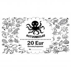 Dovanų kuponas 20 Eur