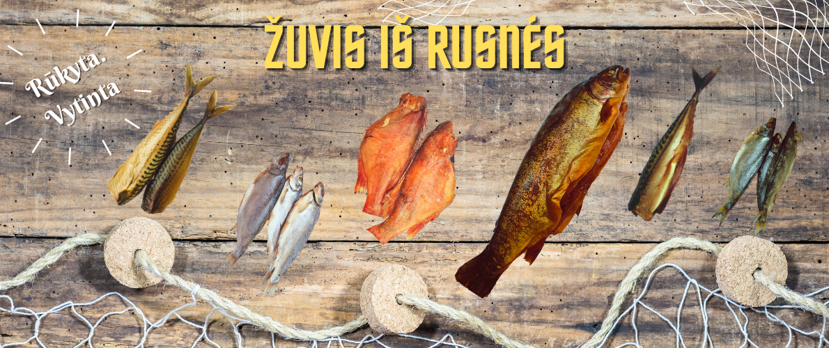 Rūkyta žuvis iš Rusnės