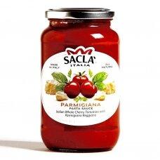 Padažas pastai su vyšniniais pomidoriukais ir Parmezano sūriu