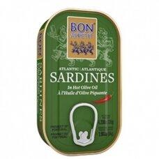 Sardinės aštriame alyvuogių aliejuje