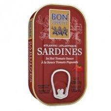 Sardinės aštriame pomidorų padaže