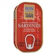 Sardinės pomidorų padaže