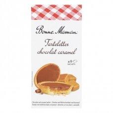 Sausainiai Tartaletės su šokolado-karamelės įdaru